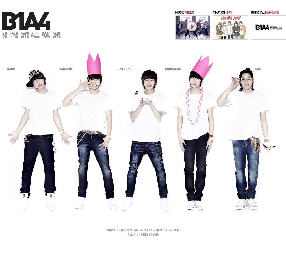B1A4 com  B1a4 Names